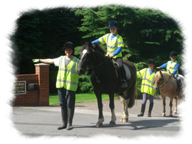 Image: Students learning Riding And Road Safety Awareness
